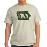 Iowa Boring Light T-Shirt