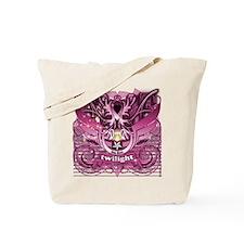 Twilight Royal Media Mix Pink Tote Bag