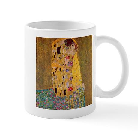 The Kiss by Klimt Mug