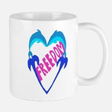 ~DolphinHeartFreedom 2~ Mug