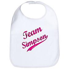 TEAM SIMPSON Support Jessica Simpson Bib