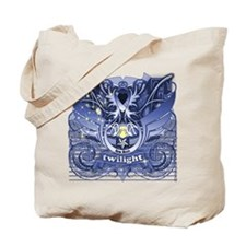 Twilight Royal Media Cobalt Tote Bag