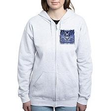 Twilight Royal Media Cobalt Zip Hoodie