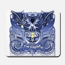 Twilight Royal Media Cobalt Mousepad
