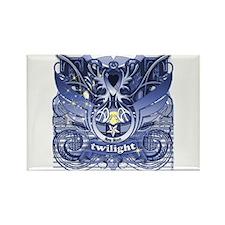 Twilight Royal Media Cobalt Rectangle Magnet