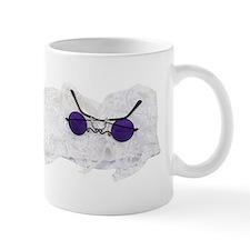 Purple glasses and jabot Mug