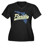 Florida Social Security State Women's Plus Size V-