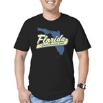 Florida Social Security State Men's Fitted T-Shirt