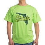 Florida Social Security State Green T-Shirt