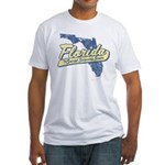 Florida Social Security State Fitted T-Shirt