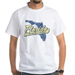 Florida Social Security State White T-Shirt