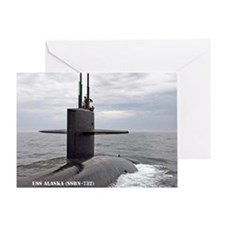 USS ALASKA Greeting Card