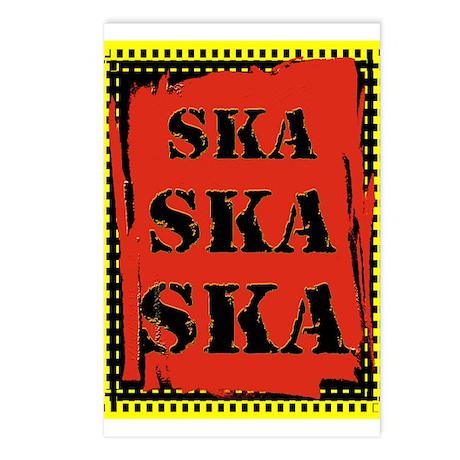 Ska Ska Ska Punk Rock Postcards (Package of 8)