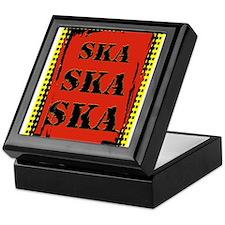 Ska Ska Ska Punk Rock Keepsake Box