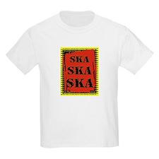 Ska Ska Ska Punk Rock Kids T-Shirt