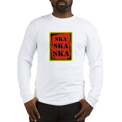 Ska Ska Ska Punk Rock Long Sleeve T-Shirt