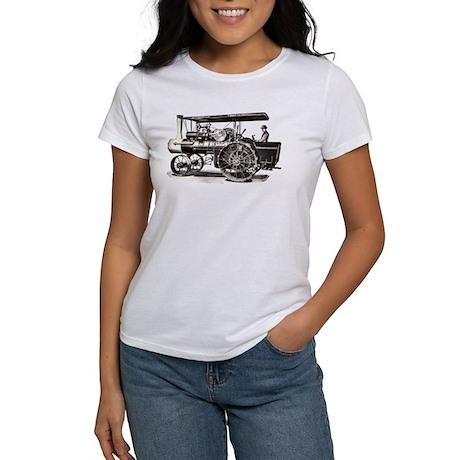 Baker Steam Tractor - Women's T-Shirt