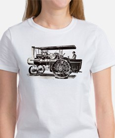 Baker Steam Tractor - Women's T-Shirt