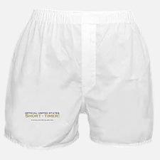 Official Short-Timer Boxer Shorts