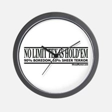 No Limit: 90% Boredom, 10% Sh Wall Clock