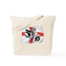 lambretta 2tone scooter Tote Bag