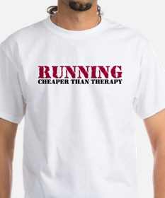 Running therapy red Shirt