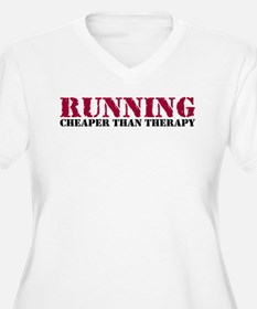Running therapy red T-Shirt