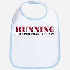 Running therapy red Bib