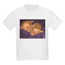 Cute Vizsla Puppies Kids T-Shirt