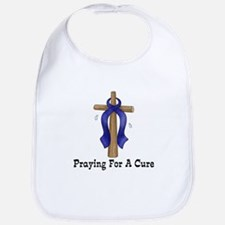Blue Ribbon Prayer Bib