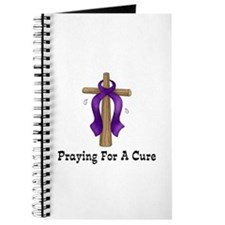 Purple Ribbon Prayer Journal
