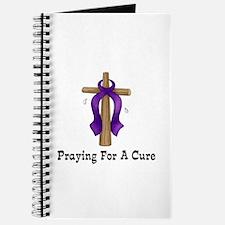Purple Ribbon Prayer Journal