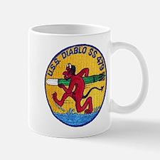 USS DIABLO Mug