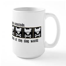 Chinese Cresteds: Punk Rocker Mug