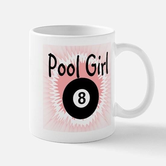 Pool Girl Mugs