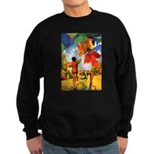 Jack Frost Painting Autumn Leavs Jumper Sweater