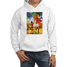 Jack Frost Painting Autumn Leavs Jumper Hoody