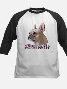 Frenchie - Creme Kids Baseball Jersey