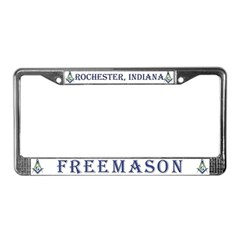 Rochester Indiana License Plate Frame