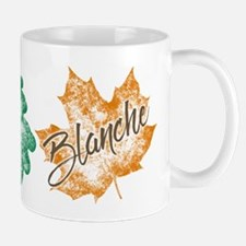 Blanche Golden Girls Leaf Mugs