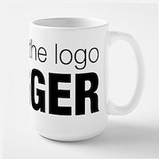 Make the logo bigger Mug