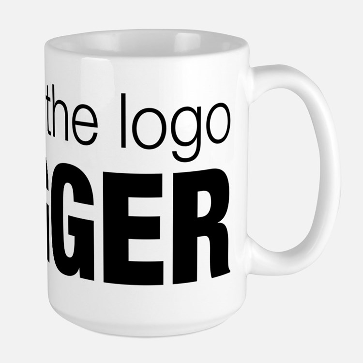 Make the logo bigger Mug
