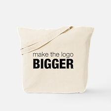 Make the logo bigger Tote Bag