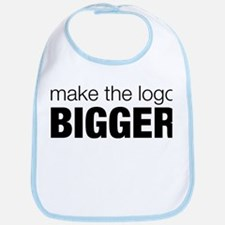 Make the logo bigger Bib