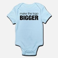 Make the logo bigger Infant Bodysuit