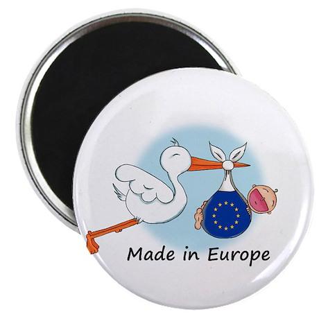 Stork Baby Europe Magnet