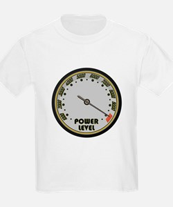 Over 9000 Power Level Meter T-Shirt