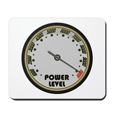 Over 9000 Power Level Meter Mousepad