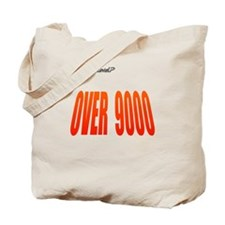 Power Level Over 9000 Tote Bag