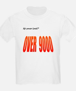 Power Level Over 9000 T-Shirt